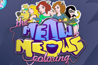 The Meow Meows Coloring