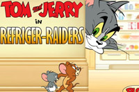 Tom e Jerry Refriger - Raiders